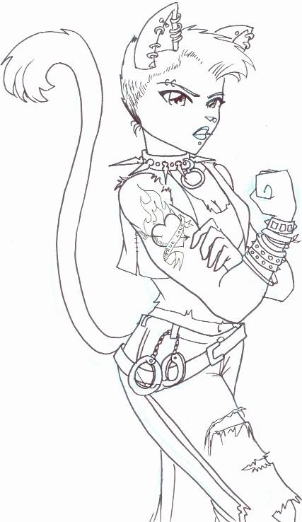 Punk coloring #16, Download drawings
