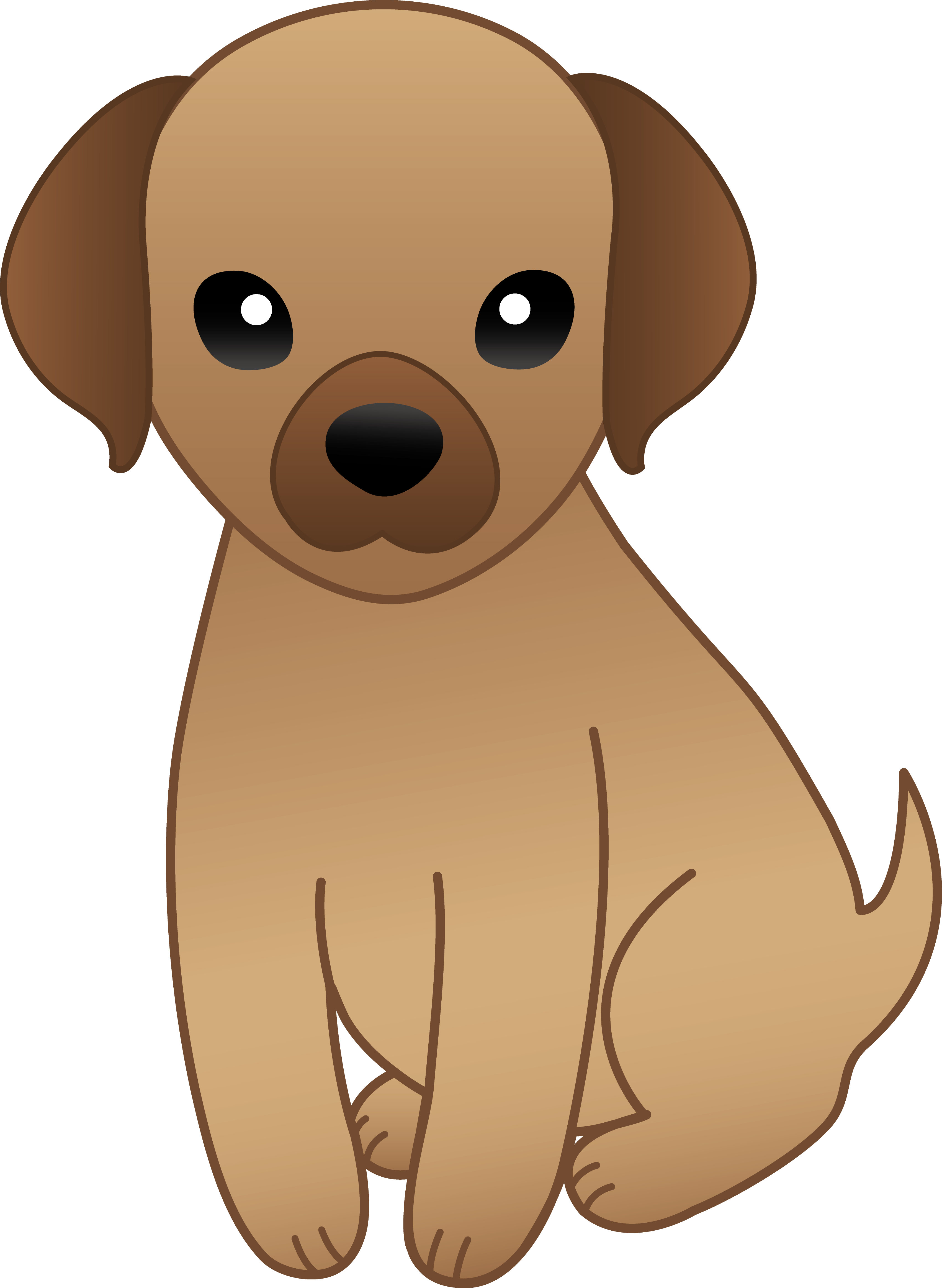 Puppy clipart #19, Download drawings