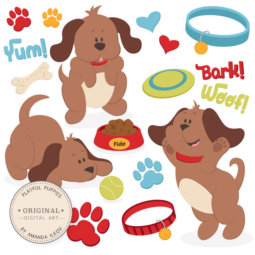 Puppy clipart #13, Download drawings