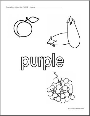 Purple coloring #3, Download drawings