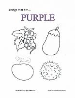 Purple coloring #4, Download drawings