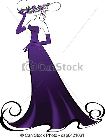 Purple Dress clipart #1, Download drawings