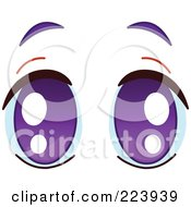 Purple Eyes clipart #17, Download drawings