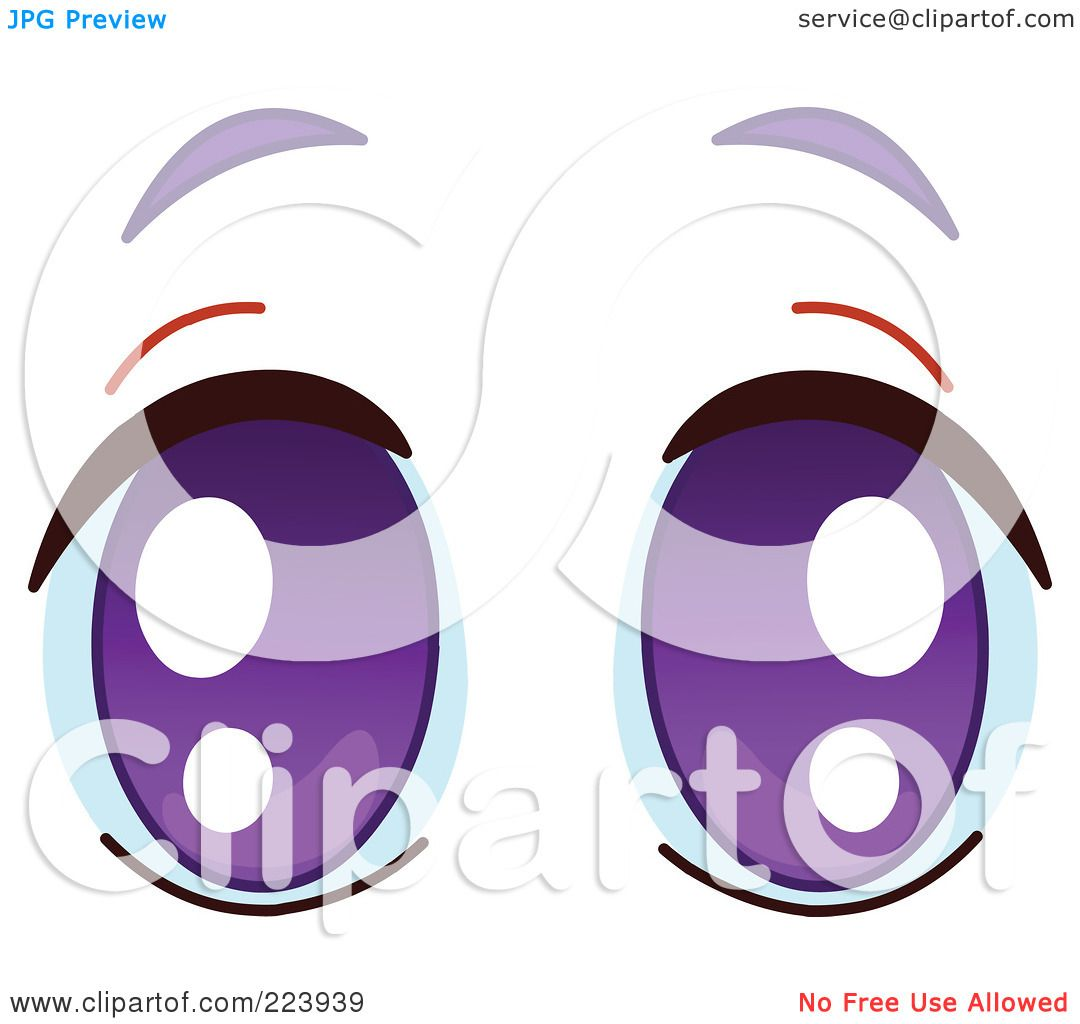 Purple Eyes clipart #14, Download drawings