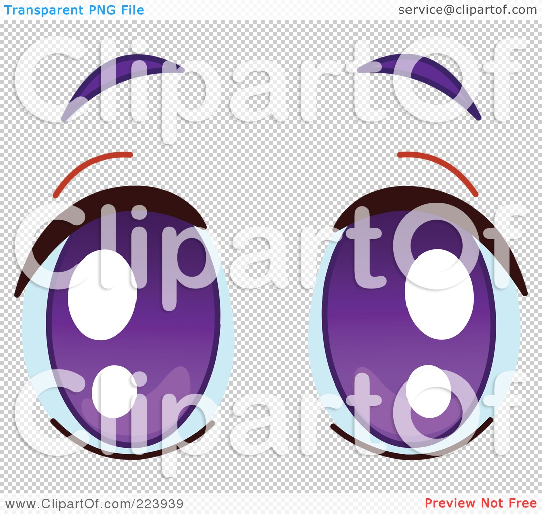 Purple Eyes clipart #5, Download drawings
