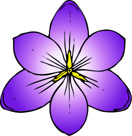 Purple Flower clipart #17, Download drawings
