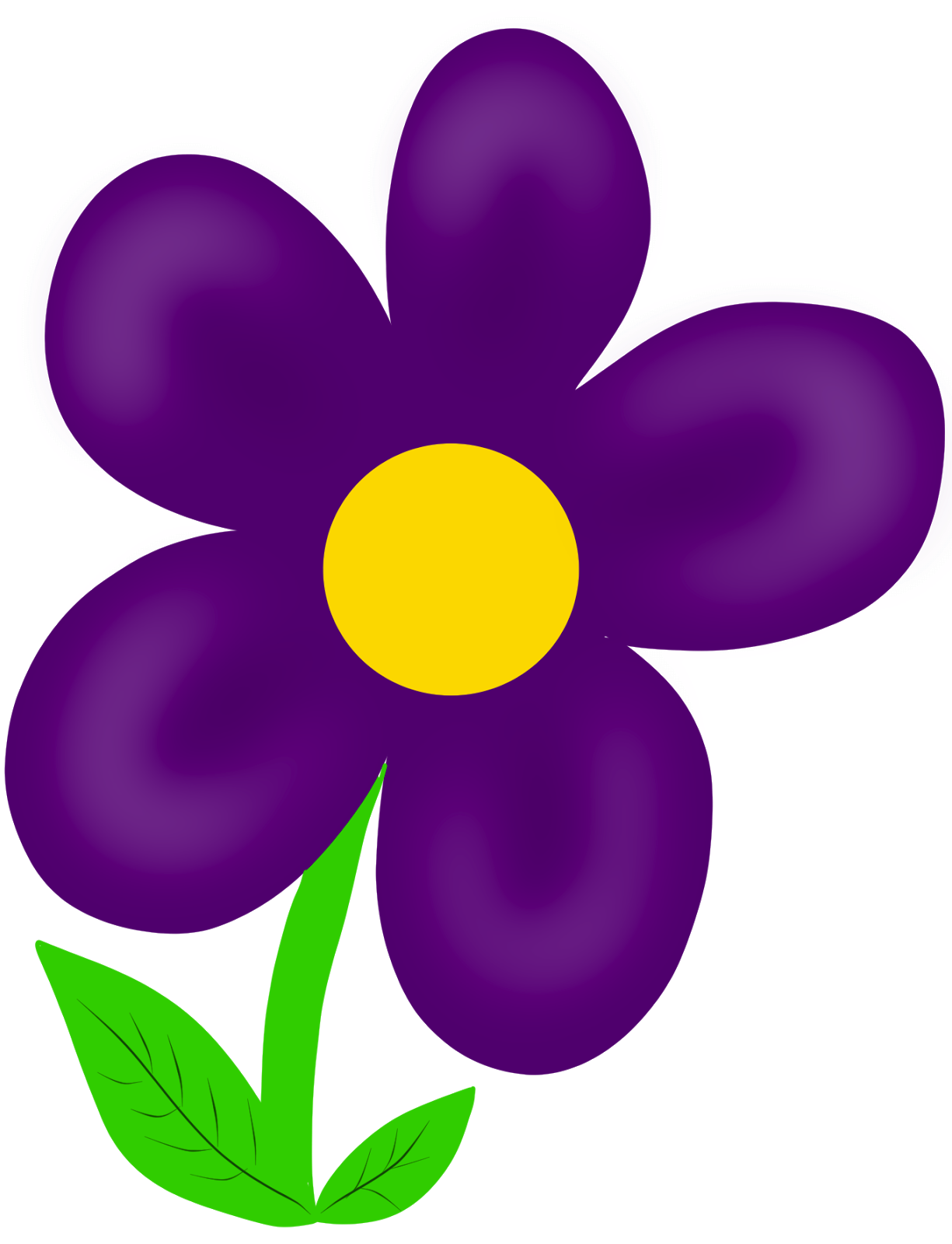 Purple Flower clipart #5, Download drawings