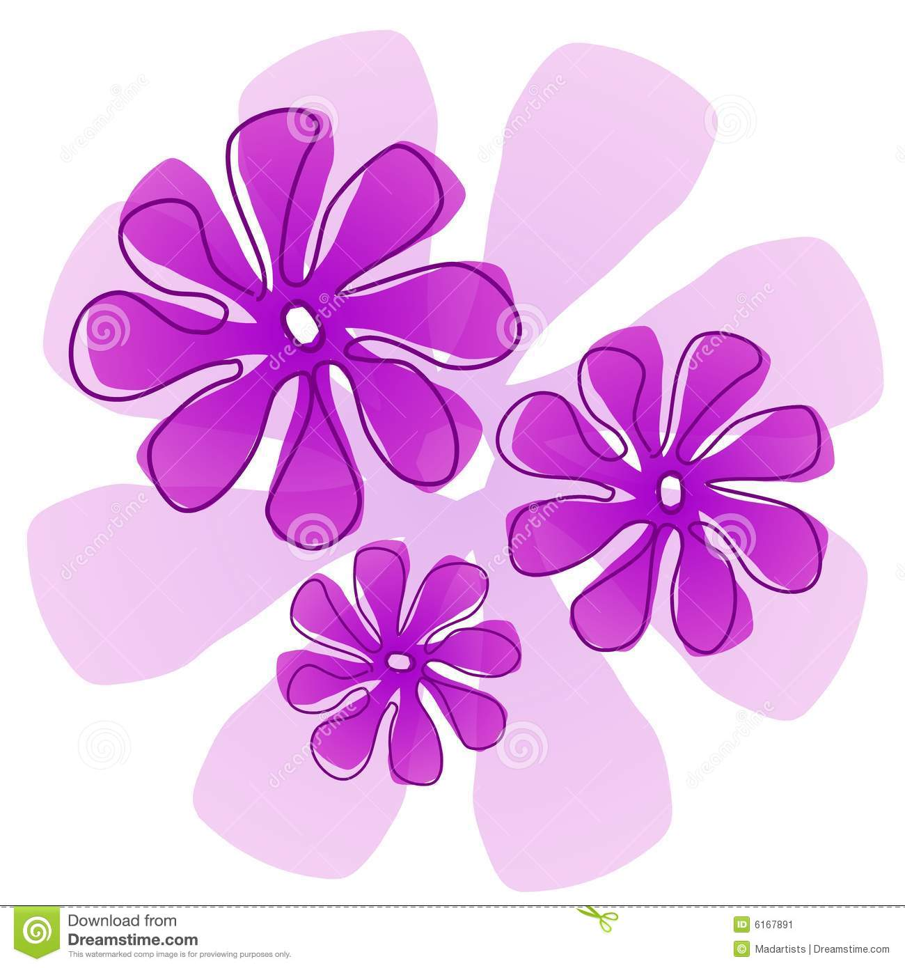 Purple Flower clipart #10, Download drawings
