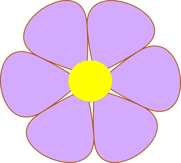 Purple Flower clipart #7, Download drawings