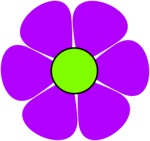 Purple Flower clipart #18, Download drawings