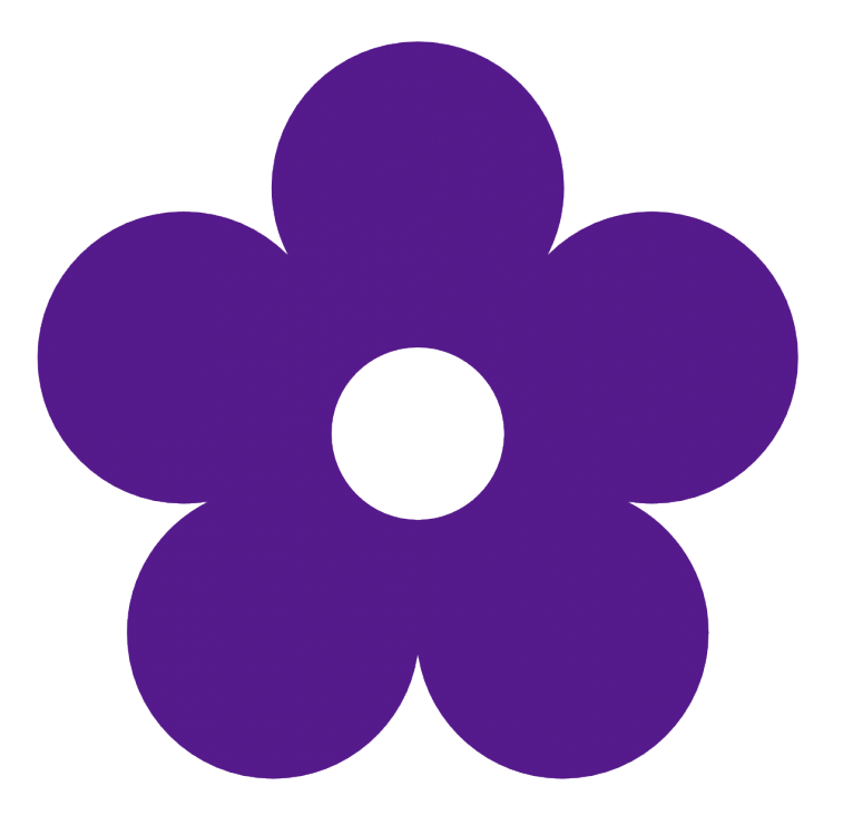 Purple Flower clipart #4, Download drawings