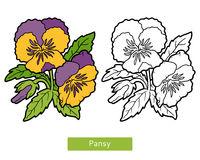 Purple Flower coloring #11, Download drawings