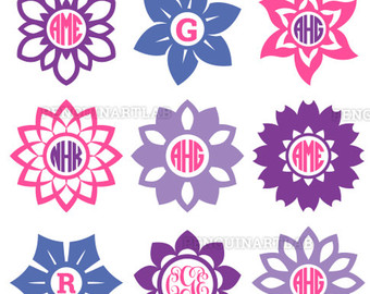 Purple Flower svg #10, Download drawings