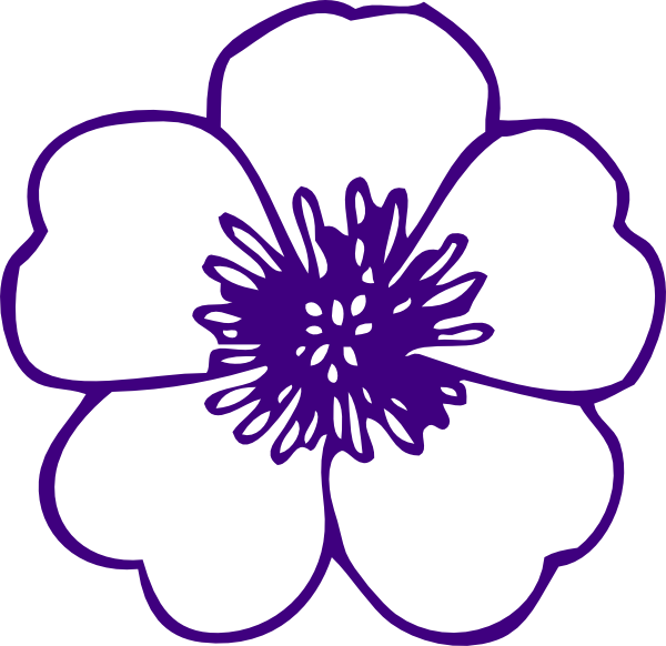 Purple Flower svg #18, Download drawings