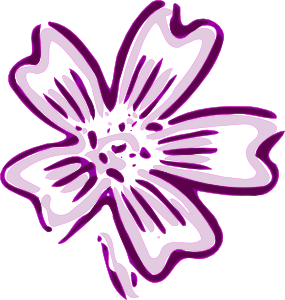 Purple Flower svg #15, Download drawings