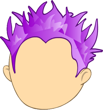 Purple Hair clipart #5, Download drawings