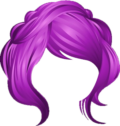 Purple Hair clipart #4, Download drawings