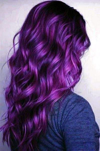 Purple Hair coloring #15, Download drawings