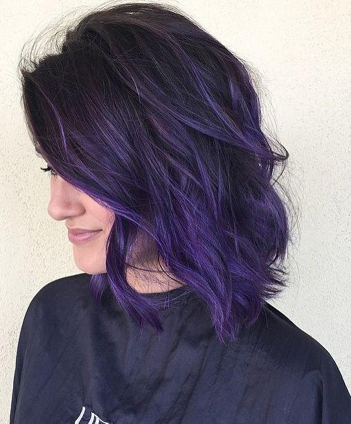 Purple Hair coloring #9, Download drawings