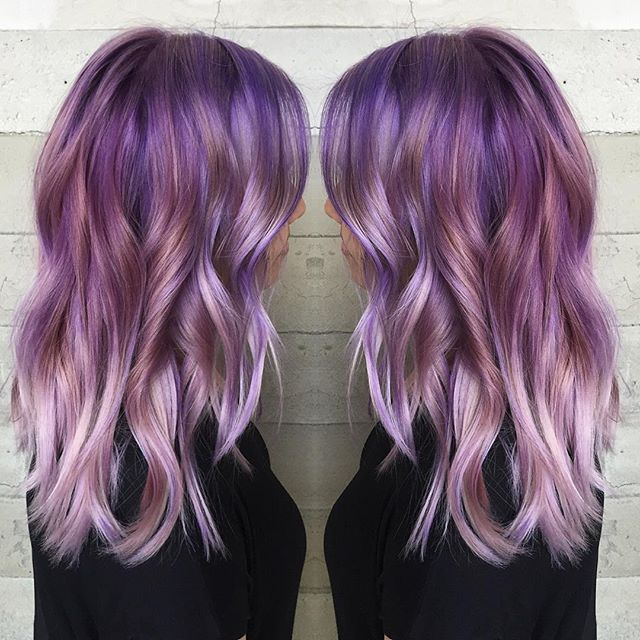 Purple Hair coloring #11, Download drawings