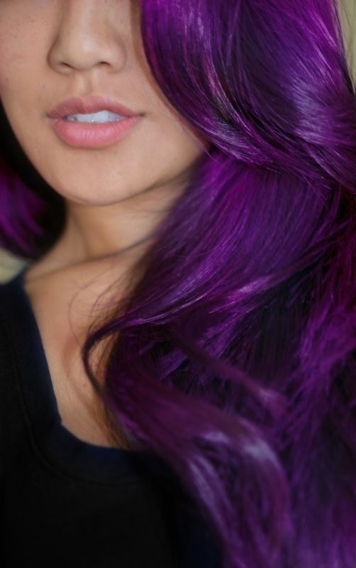 Purple Hair coloring #4, Download drawings