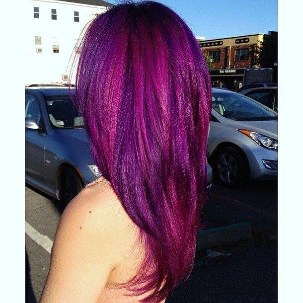 Purple Hair coloring #3, Download drawings
