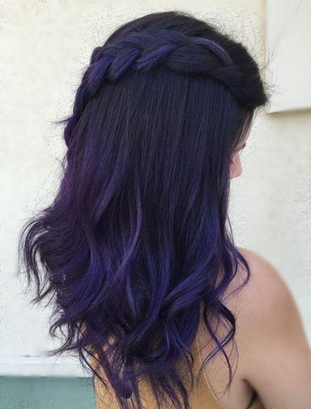 Purple Hair coloring #14, Download drawings