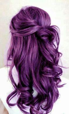 Purple Hair coloring #19, Download drawings
