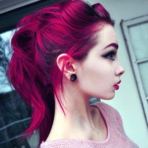 Purple Hair coloring #18, Download drawings
