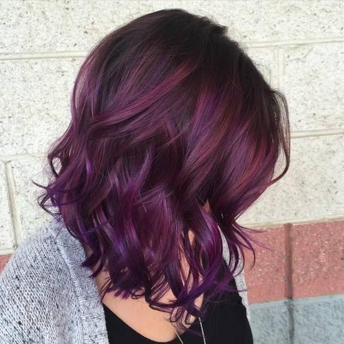 Purple Hair coloring #16, Download drawings