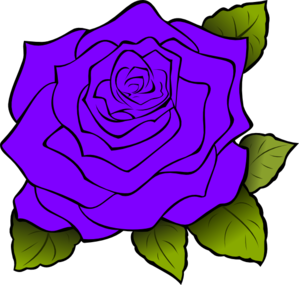 Purple Rose clipart #19, Download drawings