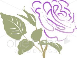 Purple Rose clipart #14, Download drawings