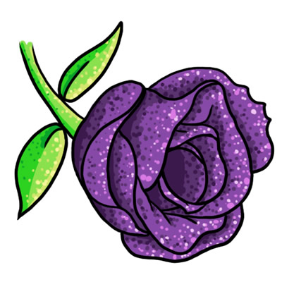 Purple Rose clipart #8, Download drawings