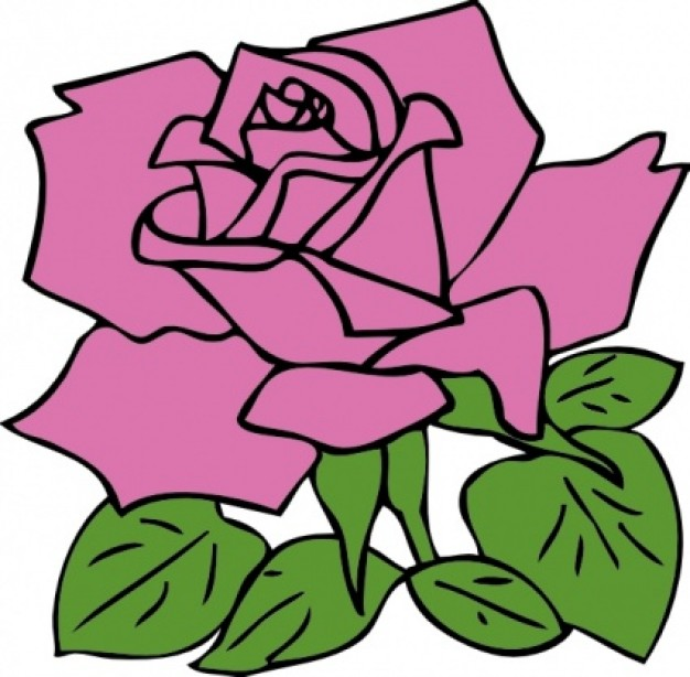 Purple Rose clipart #13, Download drawings