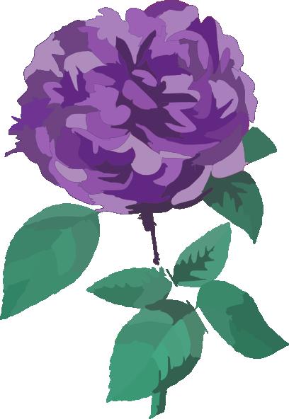 Purple Rose clipart #12, Download drawings