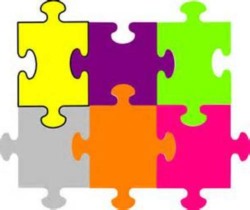Puzzle clipart #1, Download drawings