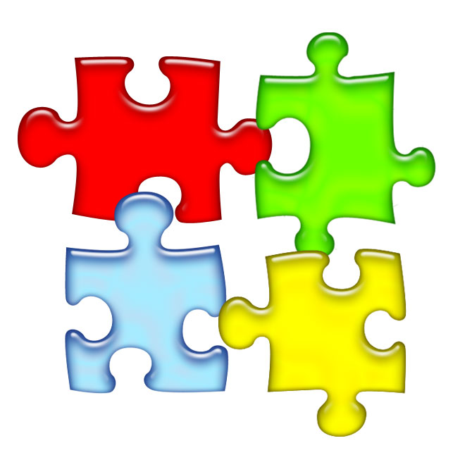Puzzle clipart #2, Download drawings