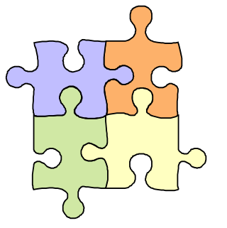 Puzzle clipart #3, Download drawings