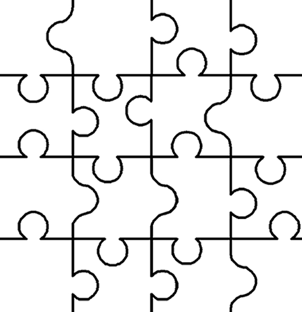 Puzzle coloring #13, Download drawings