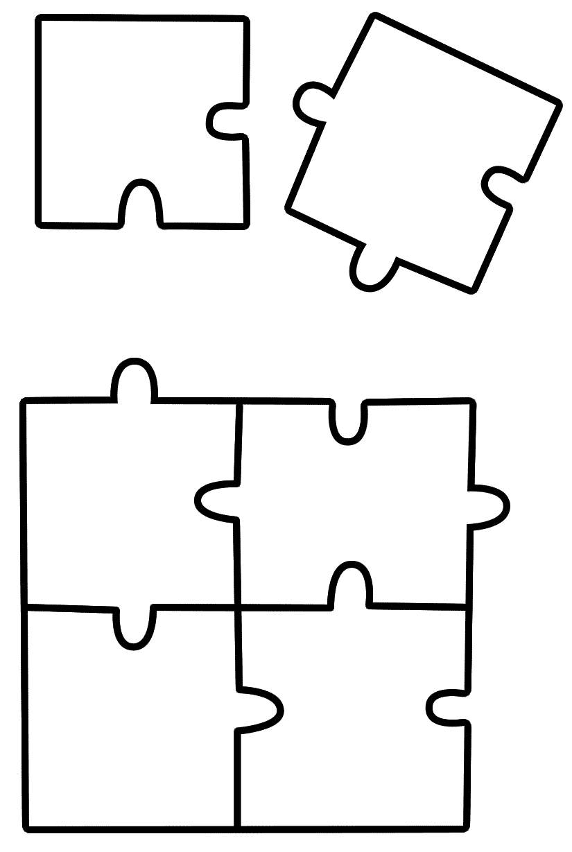 Puzzle coloring #17, Download drawings