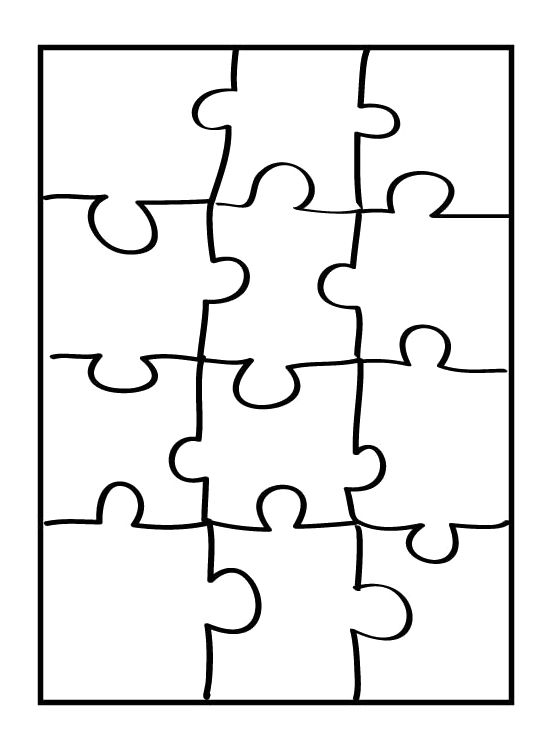Puzzle coloring #19, Download drawings