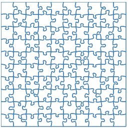 Puzzle svg #9, Download drawings