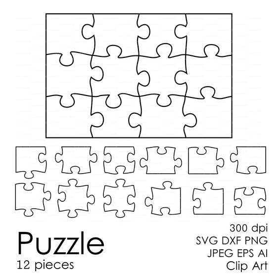 Puzzle svg #5, Download drawings