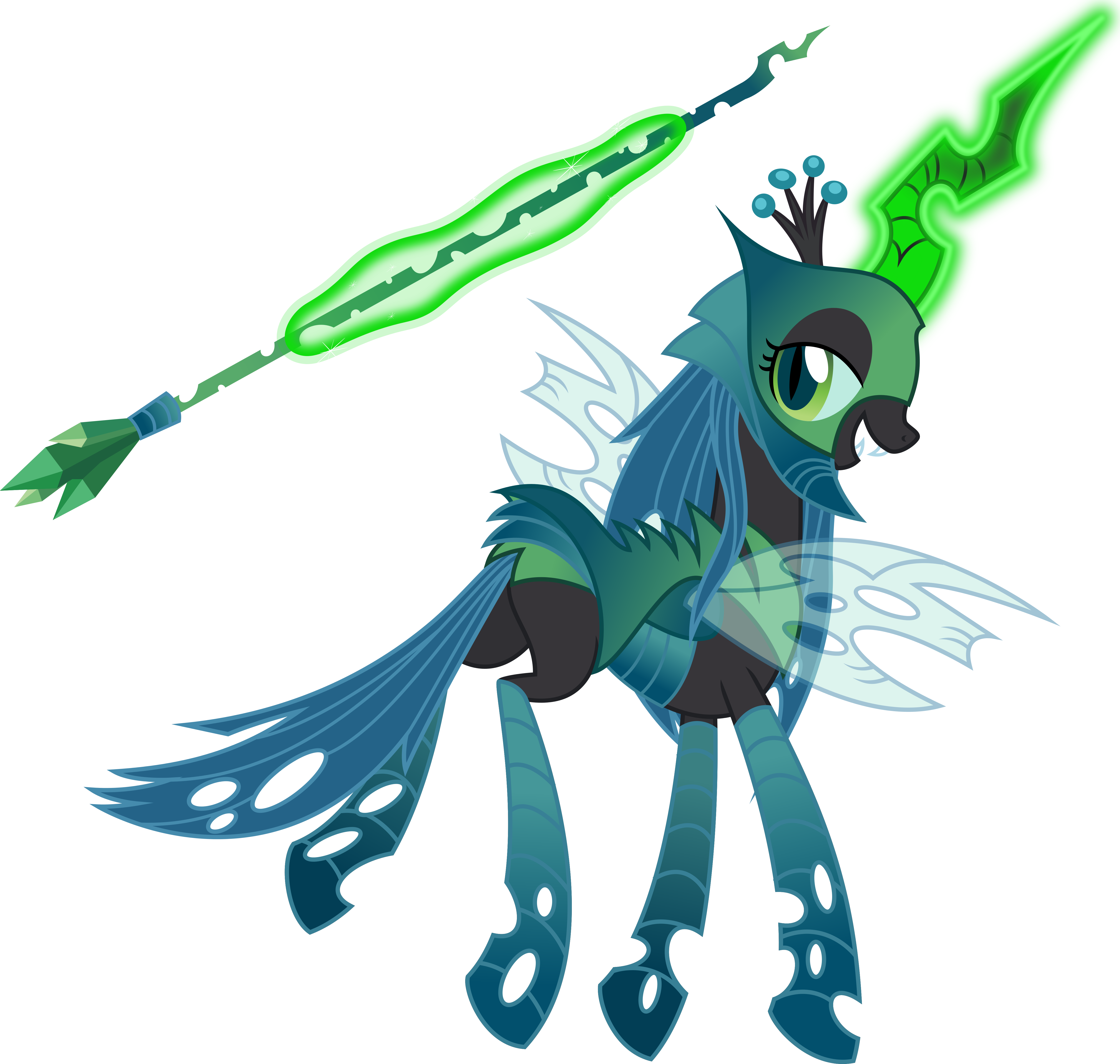 Queen Chrysalis clipart #1, Download drawings