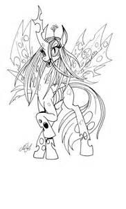 Queen Chrysalis coloring #14, Download drawings