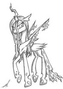 Queen Chrysalis coloring #11, Download drawings