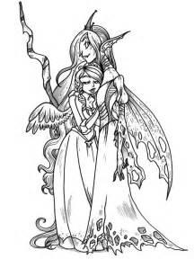 Queen Chrysalis coloring #1, Download drawings