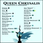 Queen Chrysalis coloring #2, Download drawings