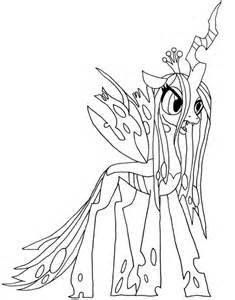 Queen Chrysalis coloring #6, Download drawings