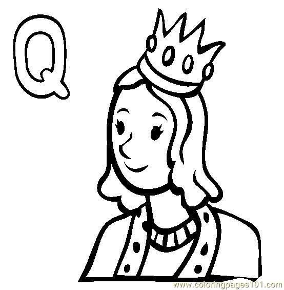Queen coloring #15, Download drawings
